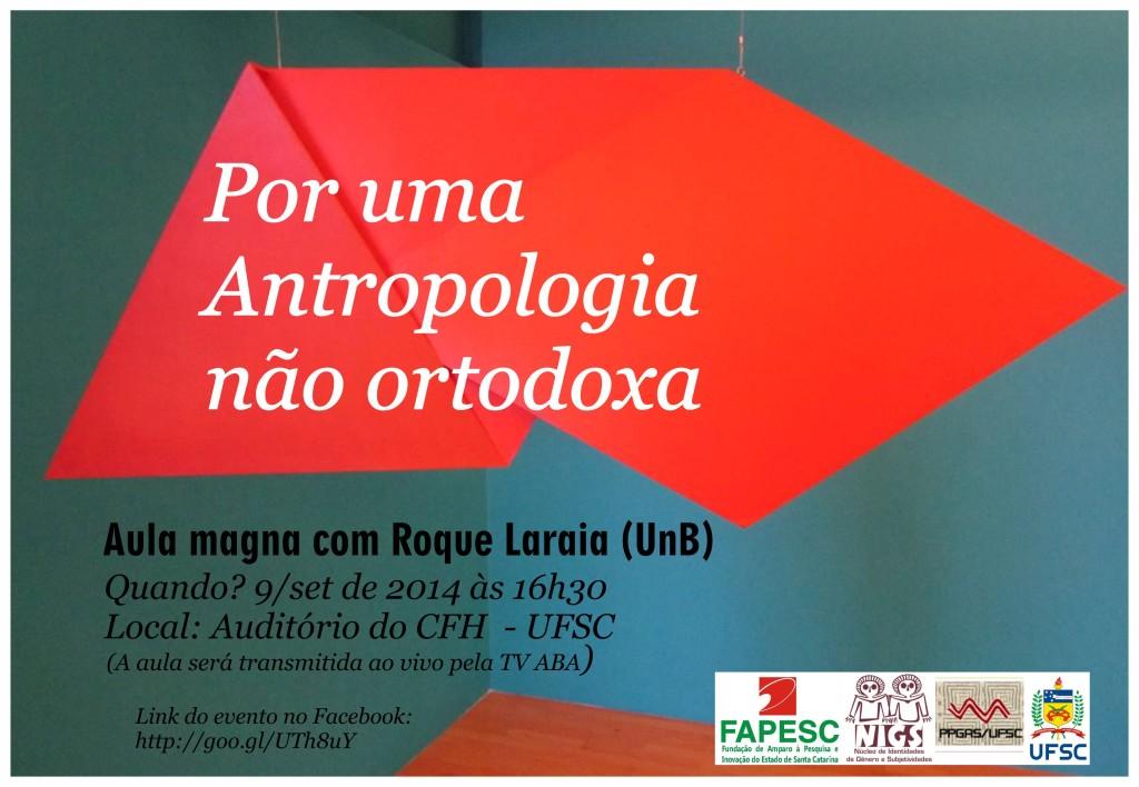 cartaz Roque Laraia