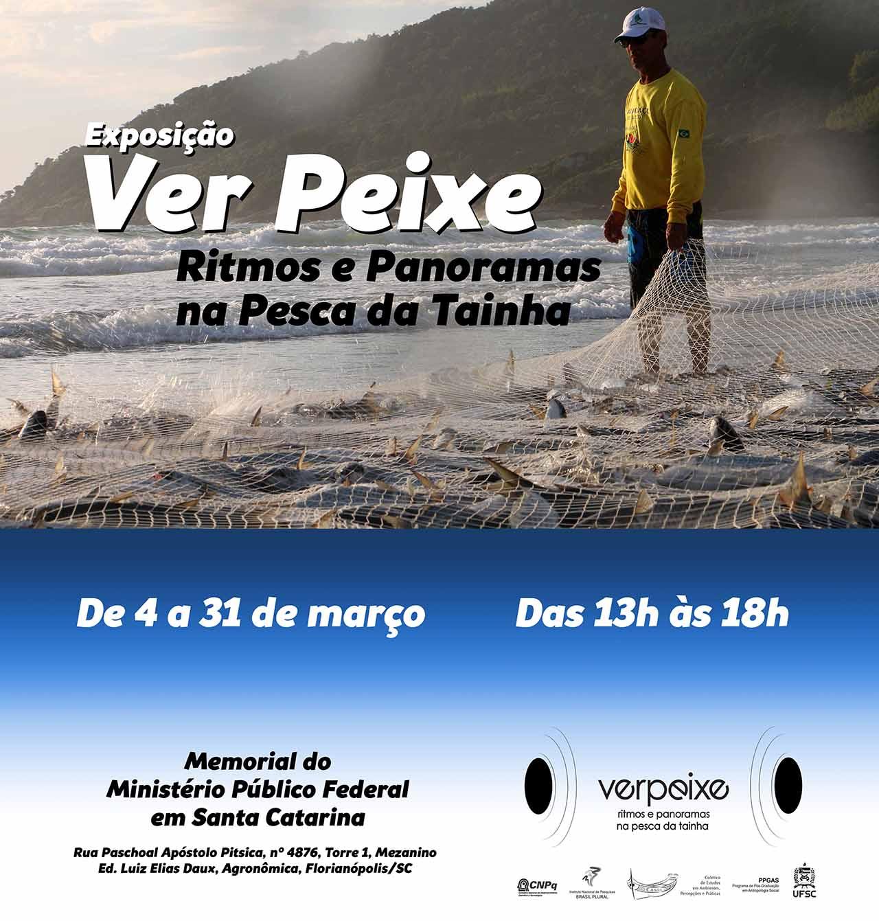 Ver Peixe - Ritmos e Panoramas na Pesca da Tainha: Exposição de fotografias e vídeos